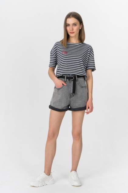 Джинсовые шорты женские Tom Farr T4F W2952.55 серые 30