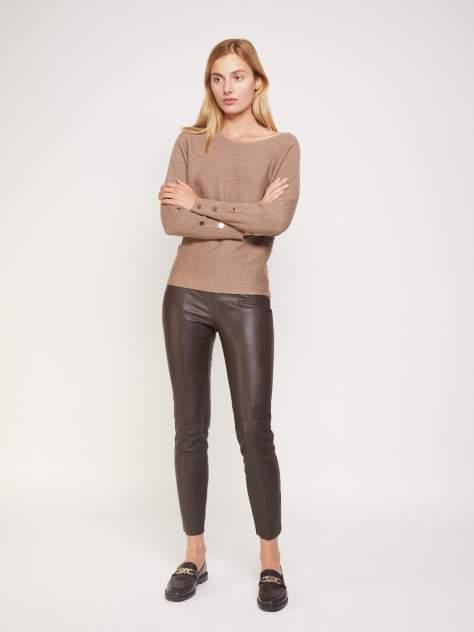Женские брюки Zolla 021347677033, коричневый