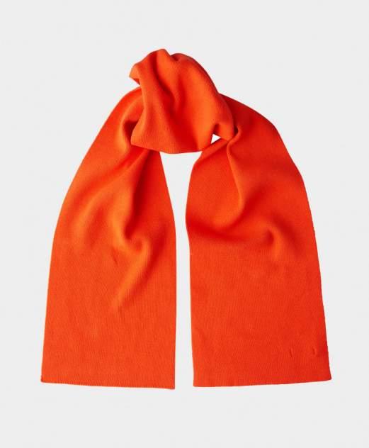 Шарф вязаный оранжевый Gulliver цв. оранжевый 150-20