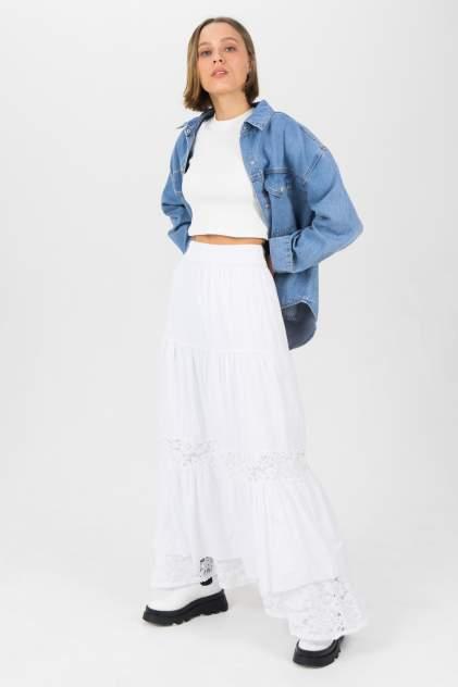 Женская юбка Guess W1GD1BWDXL0T, белый