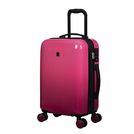 Чемодан it luggage SHEEN OMBRE, розовый