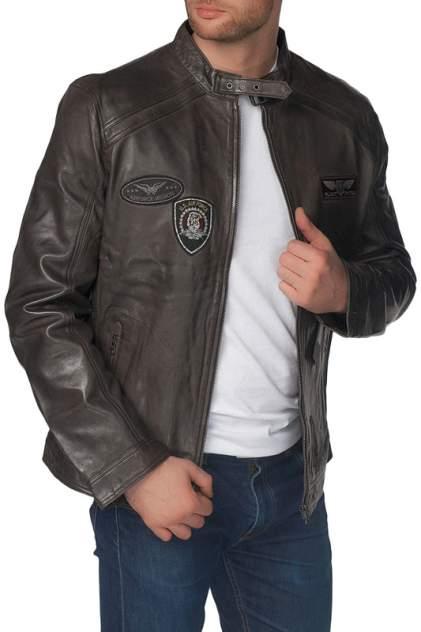 Кожаная куртка мужская REDSKINS GENUS коричневая 2XL