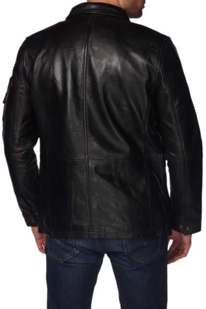 Кожаная куртка мужская REDSKINS PROGECT черная 3XL