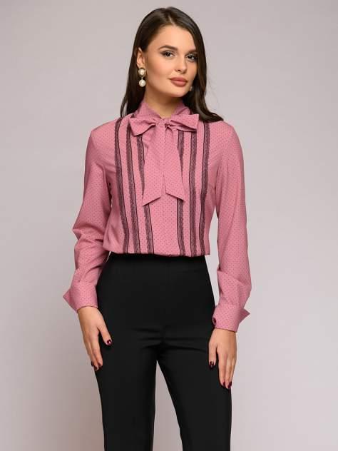 Женская блуза 1001dress 0112007-01764PD, розовый