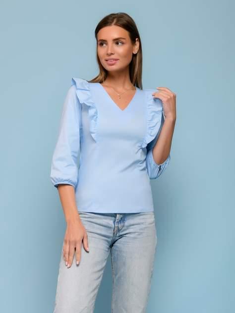 Женская блуза 1001dress 0132107-02470LB, голубой