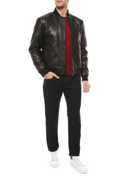 Кожаная куртка мужская REHARD P6PF-641 черная L