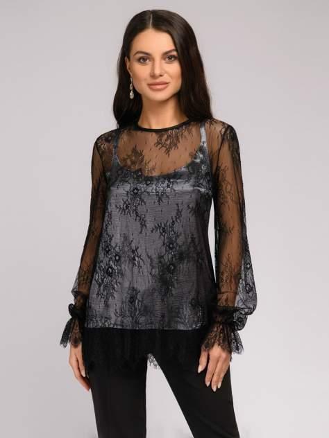 Женская блуза 1001dress DM01691EM, черный