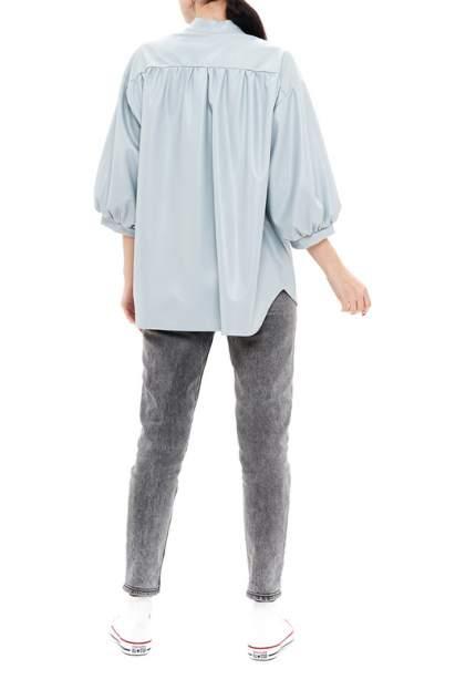 Рубашка женская 37THAVENUE 656AV голубая 48-50