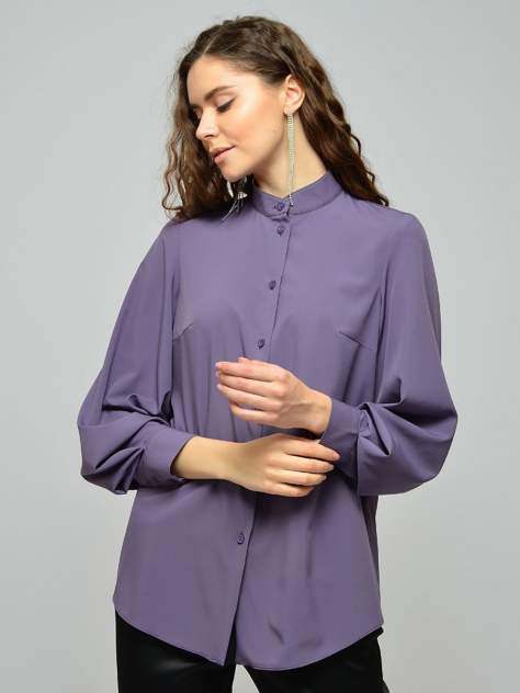 Женская блуза 1001dress VI00115BL, фиолетовый