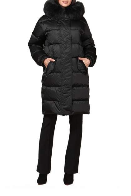 Пуховик-пальто женское Conso WDLF 190531 черное 42