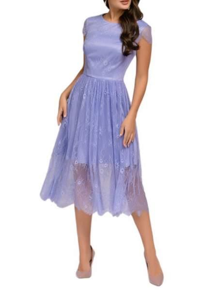 Вечернее платье женское D&M by 1001DRESS DM01854LV фиолетовое XS