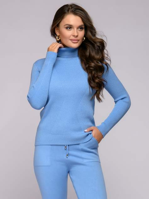 Женские брюки 1001dress 0122008-30097BG, голубой