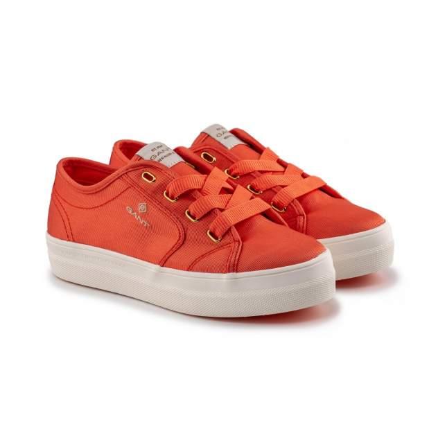 Кеды женские, GANT LEISHA 20539441, оранжевый
