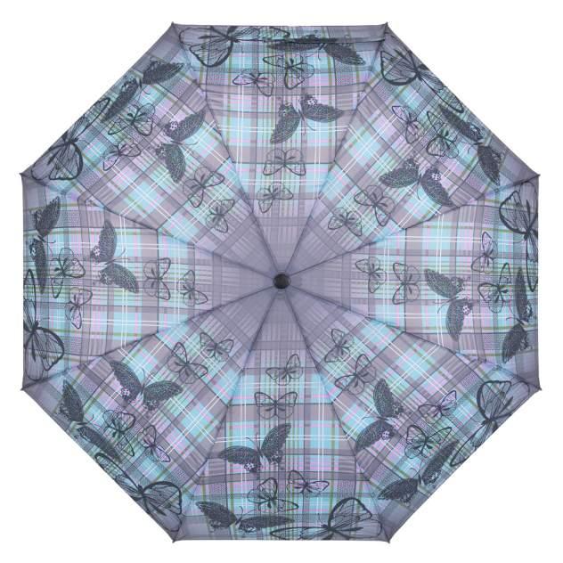 Зонт женский Raindrops RD05396 бирюзовый/серый