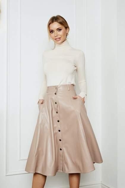 Женская юбка AVEMOD AV 903, бежевый