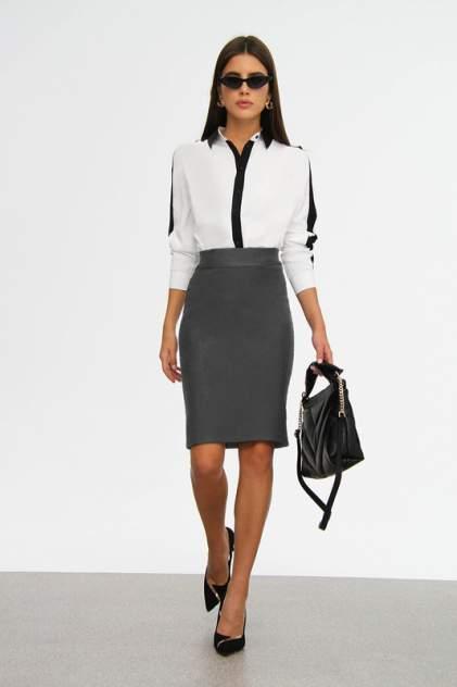 Женская юбка Hochusebetakoe ST 085, серый