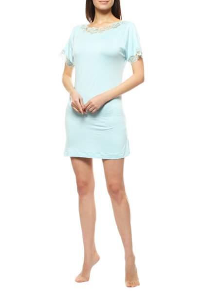 Домашнее платье Cotton Club NATIA BK6, голубой