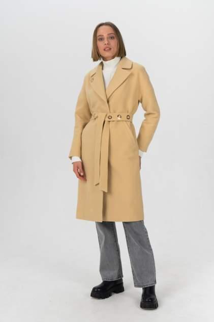 Пальто женское ElectraStyle 4-703820-021 бежевое 46