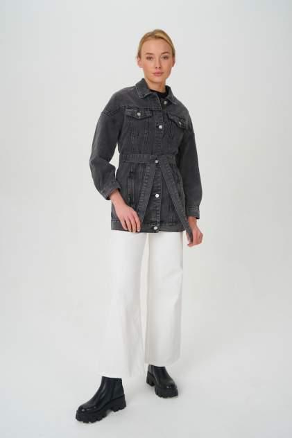 Женская джинсовая куртка Tom Farr T4F W2, серый