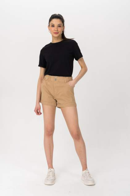Повседневные шорты женские Tom Farr T4F W2950.14 бежевые 27