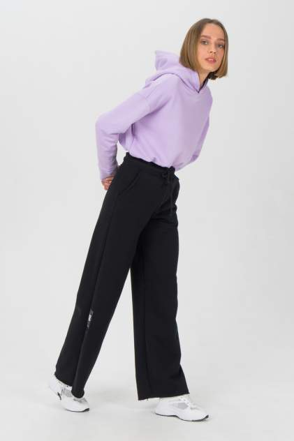 Спортивные брюки женские LA URBA PERSON BLC-058 черные 42-44 RU