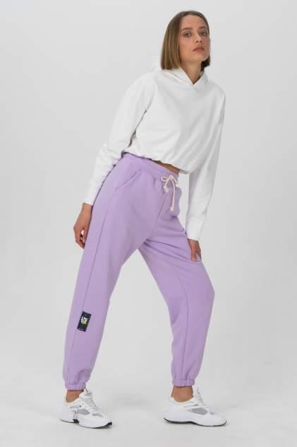 Спортивные брюки женские LA URBA PERSON LVD-059 фиолетовые 42-44 RU