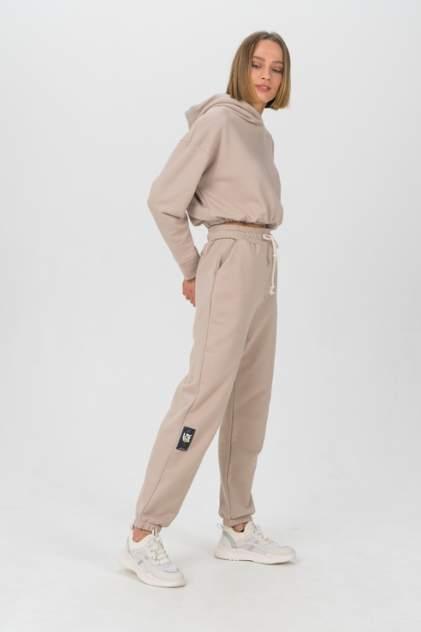 Спортивные брюки женские LA URBA PERSON ND-059 бежевые 42-44 RU