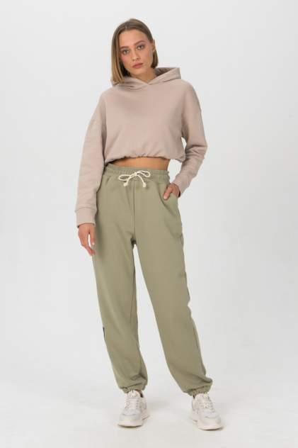 Спортивные брюки женские LA URBA PERSON OLV-059 зеленые 42-44 RU