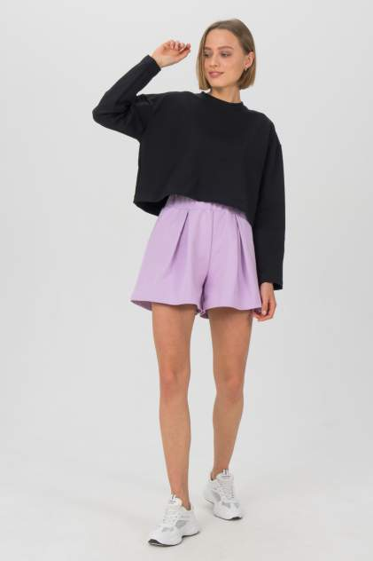 Женские шорты LA URBA PERSON LVD-066, фиолетовый