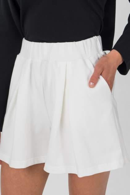 Повседневные шорты женские LA URBA PERSON MLK-066 белые 42-44