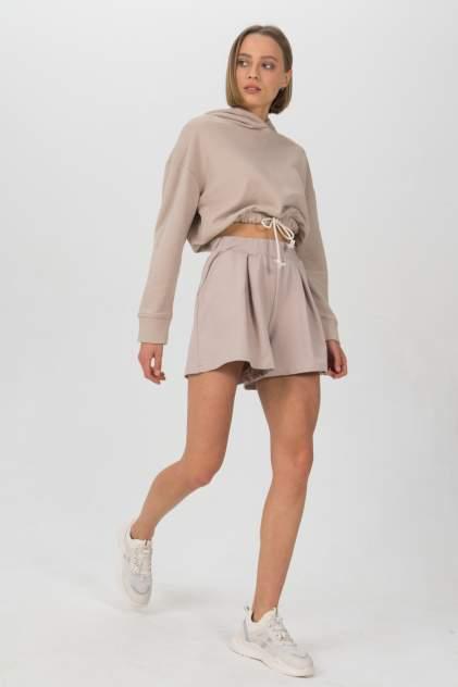 Женские шорты LA URBA PERSON ND-066, бежевый
