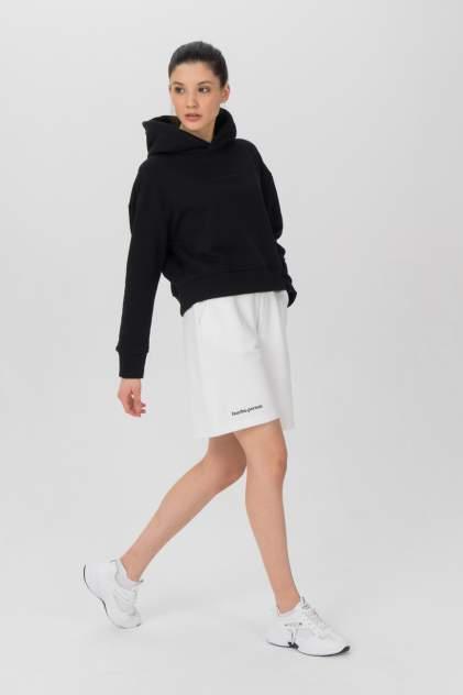 Повседневные шорты женские LA URBA PERSON MLK-008 белые 44-46