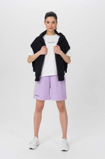 Повседневные шорты женские LA URBA PERSON LVD-008 фиолетовые 44-46