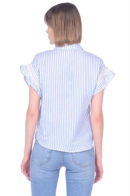 Блуза женская Baon B199021 синяя XL