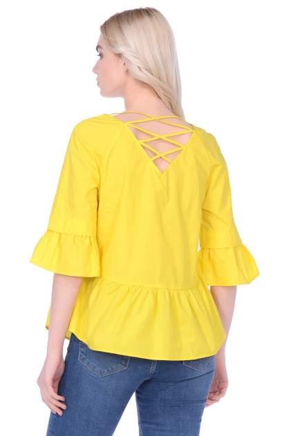 Блуза женская Baon B199024 желтая M
