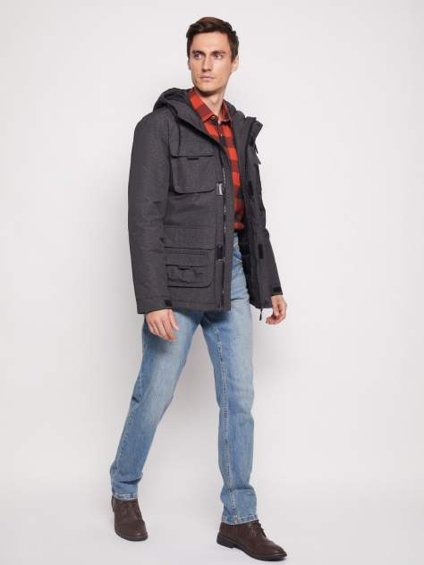 Куртка Zolla 011345123284, серый