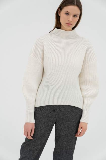 Джемпер женский AIM Clothing S-718-PHR 01, белый