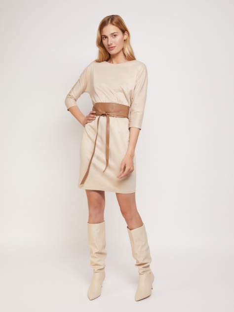 Женское платье Zolla 02134819F073, бежевый