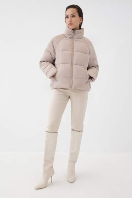 Куртка ZARINA 1122416116, коричневый