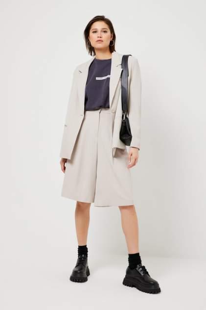 Повседневные шорты женские Sela 1803011538 белые 42