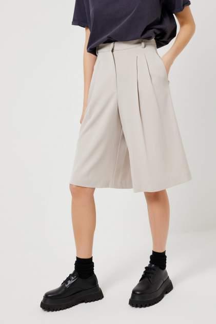 Повседневные шорты женские Sela 1803011538 белые 48