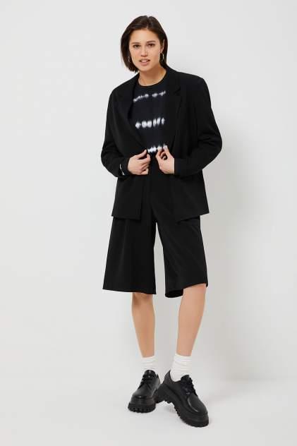 Повседневные шорты женские Sela 1803011538 черные 48