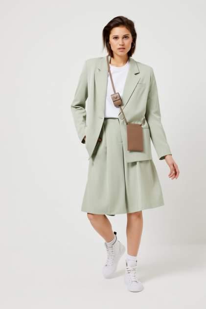 Повседневные шорты женские Sela 18030115380 зеленые 42