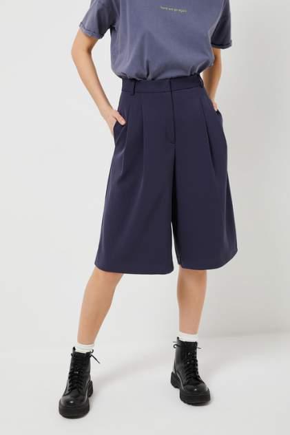Повседневные шорты женские Sela 18030115380 синие 42