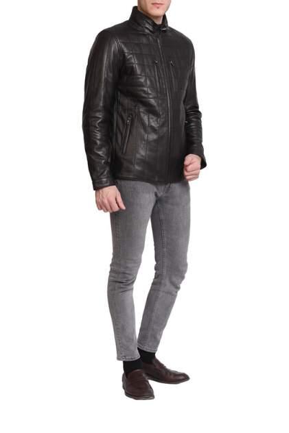 Кожаная куртка мужская EXPO FUR 5392 черная 54