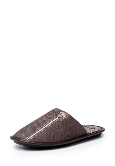 Мужские домашние тапочки Smile of Mister SM-147-015-16, коричневый
