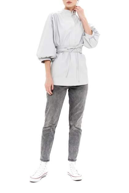 Рубашка женская 37THAVENUE 656AV серая 48-50