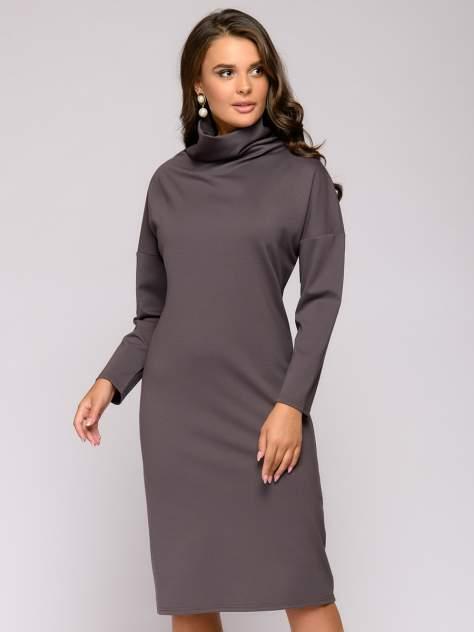 Женское платье 1001dress 0112001-01044MO, коричневый