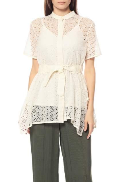 Рубашка женская SPORTMAX 21-SP22610271 бежевая 42