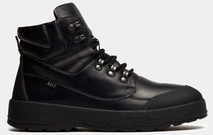 Ботинки мужские Ralf Ringer 101203 черные 43 RU